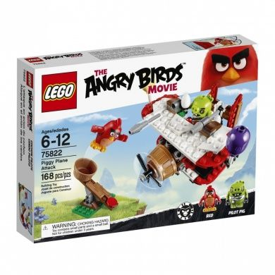 LEGO Angry Birds 75822 Piggy Plane Attack Building Kit