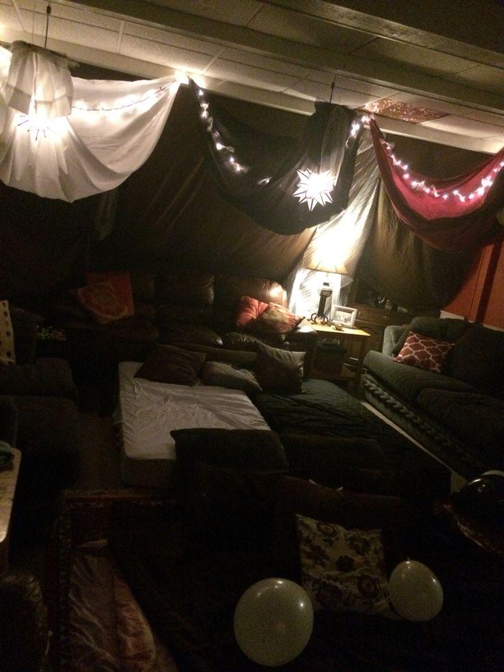 Best 25 Sleepover Fort Ideas On Pinterest Fort Ideas