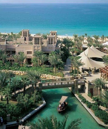 Isn't it just beautiful! Madinat Jumerirah - Mina A'Salam Hotel Dubai.