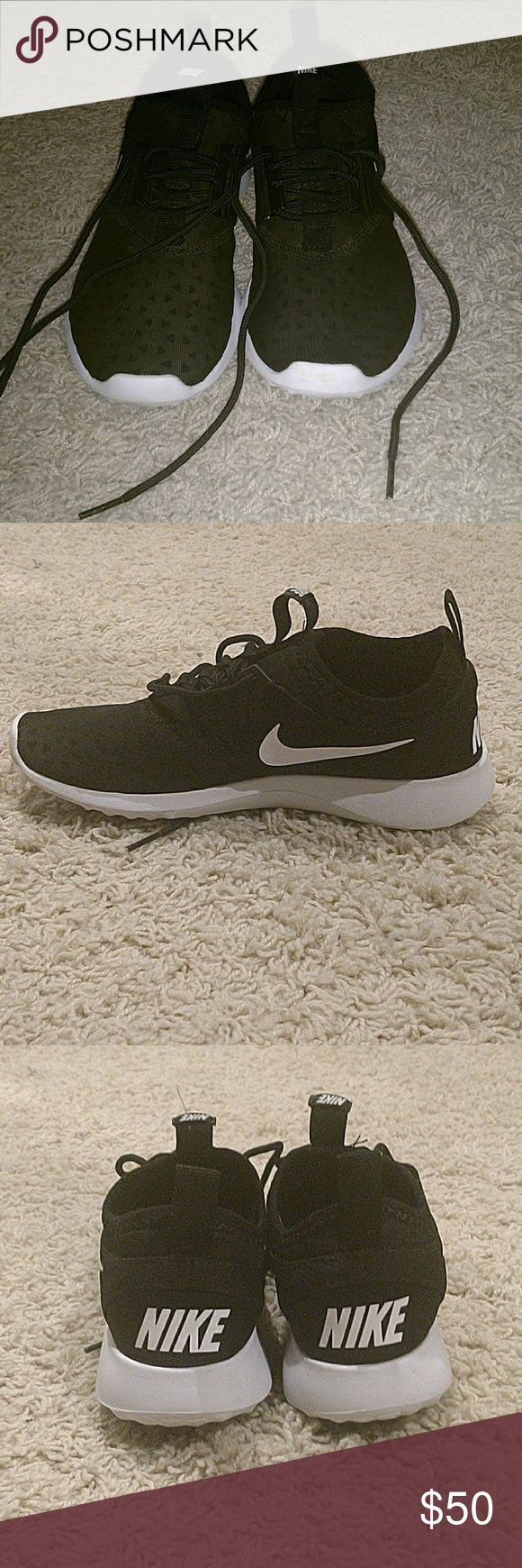 Nike Workout Shoes Fairly new, I only wore them maybe about 8 times. They still smell new. They are not running shoes, they are workout and training gym shoes. They are a size 6.5. Nike Shoes Athletic Shoes