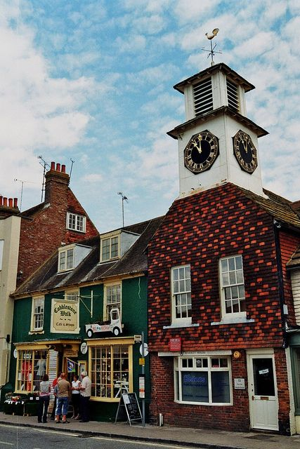 The Clock Tower House, Steyning, West Sussex, England