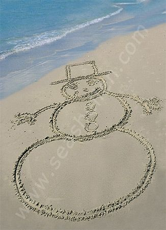 105 Best Beachy Christmas Images On Pinterest Beach