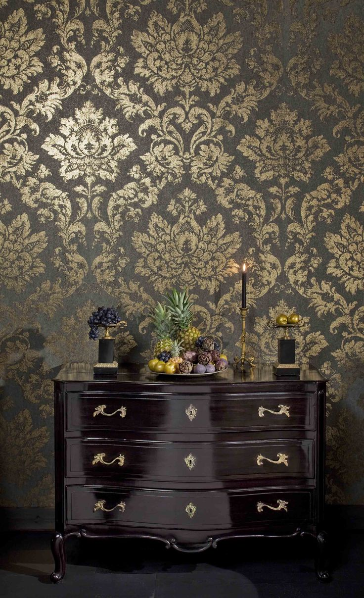 Wall covering from Palazzo, Omexco, Goodrich. #GoodrichGlobal #PoshLiving #GoodDesign