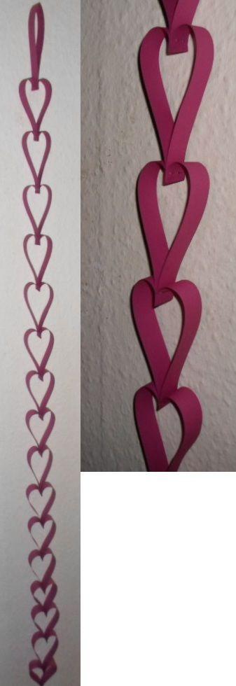 Row of hearts.