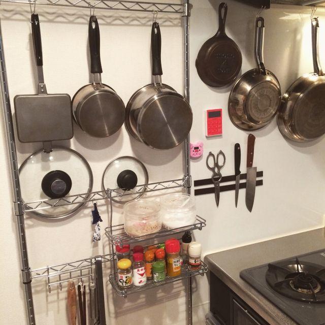 整理&時短!お鍋の蓋の収納を変えてキッチンをスッキリさせよう | RoomClip mag | 暮らしとインテリアのwebマガジン