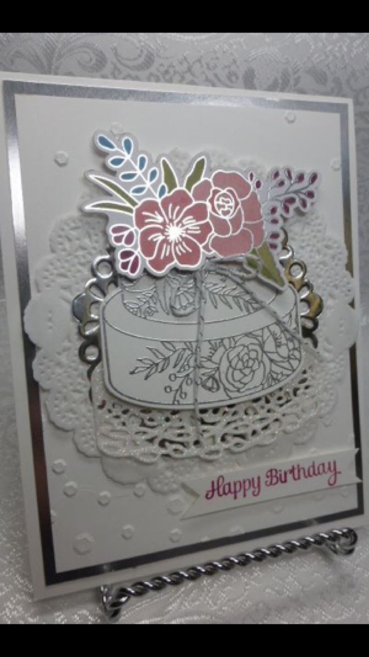 1448 Best Birthday Cards Images On Pinterest Card Tutorials Cards