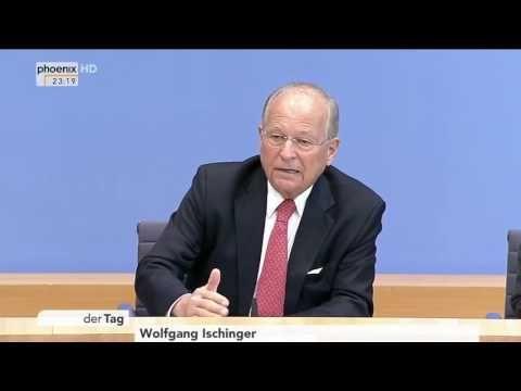 Botschafter Ischinger vor der Bundespressekonferenz zur Münchner Sicherh...