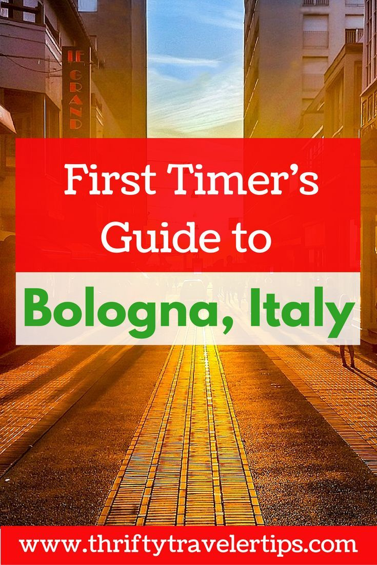 Are you planning your first trip to Bologna, Italy? This guide has everything you need to know before you go including food and drinks to try in Bologna, Italian phrases to know, and things to see while you're in Bologna, Italy. Don't forget to save this Bologna travel guide for later!