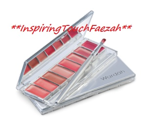 Wardah Cosmetic Lipstick Palette I choose ChocoAholic Rp 48.500,-