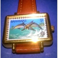 Mark Fondas $1 Bahamas Stamp Watch Collectors Edition number 30442.