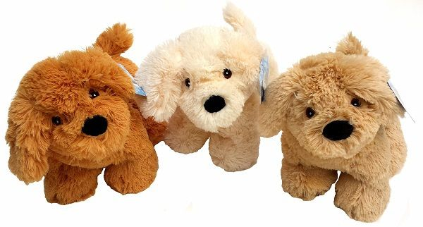 Zachte honden knuffels | pluche | 28 cm | 7,95!