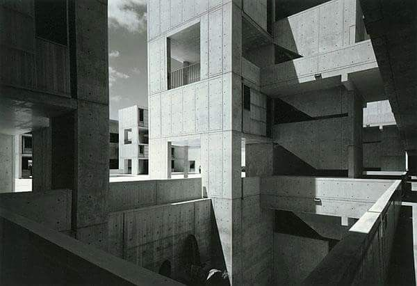 Ezra Stoller, Salk Institute  Sourced at: http://www.sauer-thompson.com/junkforcode/archives/2011/01/american-photog-7.html