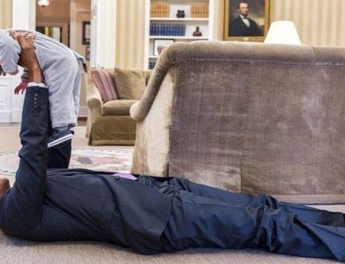 No se si Obama habrá sido un buen presidente…pero estas 15 divertidas fotos demuestran que sabe conectar con los niños