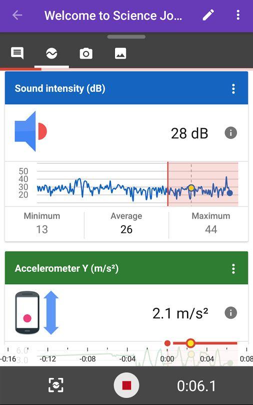 昨年 Googleは好奇心あるキッズ向けに愉快なアプリをリリースした。このアプリではスマートフォンのセンサーを利用して周囲の光度、音量、加速度を計測するなどの科学実験ができる。利用者からのフィードバックを参考に、Googleでは新しいセンサーやiOS版に加えて、子どもたちが周囲を記録し、メモを付して共有できる機能を.. Science Journalのプログラム・マネージャーAmit Deutschは、「われわれは教師から子供たちが周囲を記録し、簡単に観察メモを付して共有できるようにすれすればこのアプリはもっと役に立つはずだという提案を受けた。そこでわれわれはScience Journalを一種のデジタル版のフィールドノートとして使えるように改良した」とブログ記事に書いている。