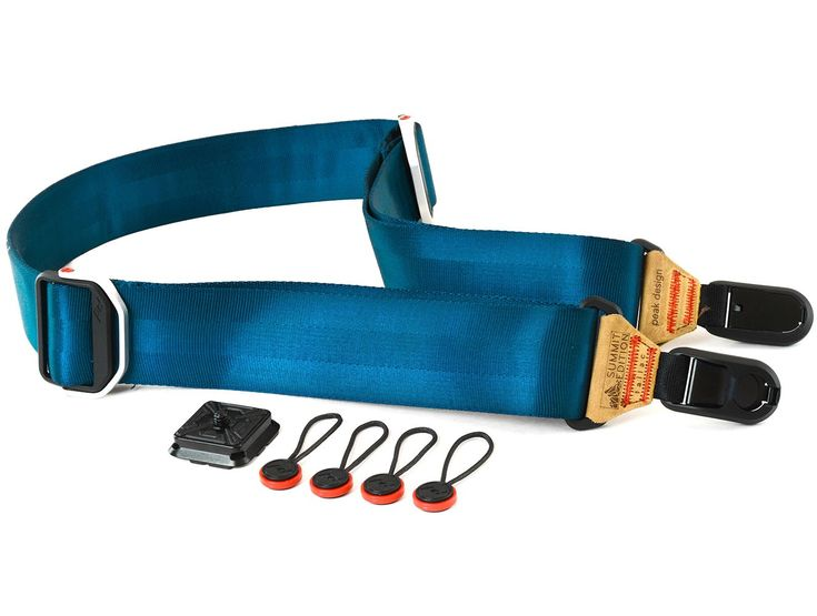 World's finest professional camera sling strap, now in color.
