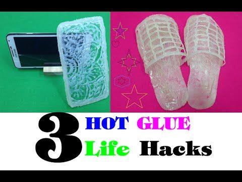 3 amazing things can be made with a hot glue gun - 3 fantastic things Li...