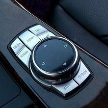 Центр управления мультимедийные клавиши кнопка наклейка ABS Хром крышки Для BMW X1 X3 X4 X5 X6 1 2 3 5 7 серии GT E36 E60 E90 F10 F30 //Цена: $30 руб. & Бесплатная доставка //  #computers #laptops