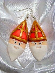 Sinterklaas oorbellen!