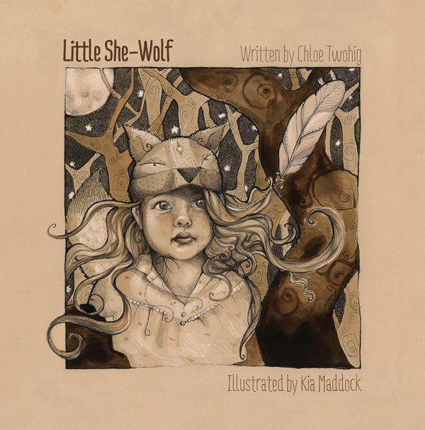Little-She-Wolf peeps into the world in Melbourne, Oct 4th   #whatsonmelbourne #kidlit