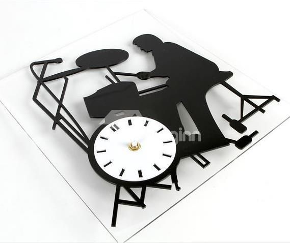 New Arrival Modern Style Rock Musician Design Wall Clock ...