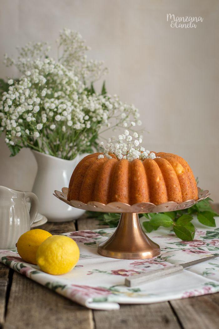 Bundt Cake de limón y requesón. Receta muy fácil.