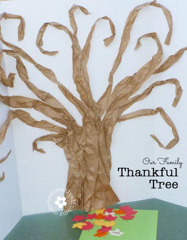 Thankful Tree Tutorial