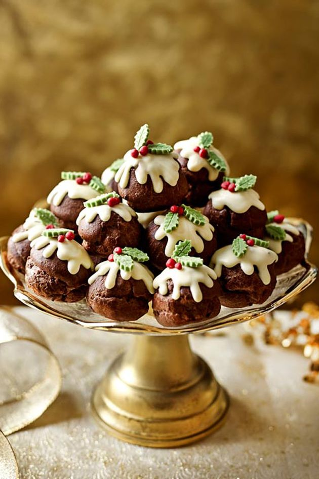 Malteaser Christmas Pud Cake