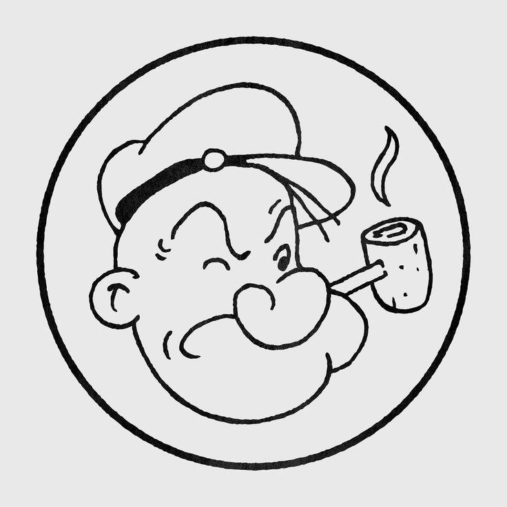Popeye The Sailorman http://www.redbubble.com/people/jarmandesign