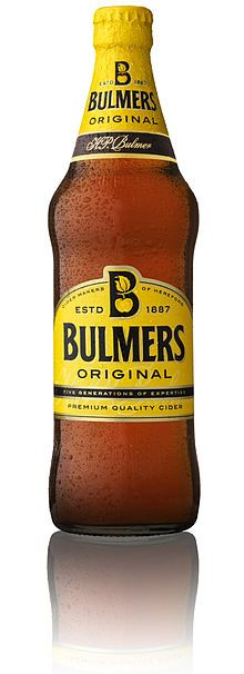 Bulmers cider. Missing this so much. Angry Orchard and Woodchuck just don't cut it.