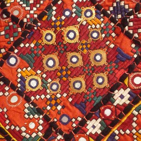 Kutch Embroidery (india).