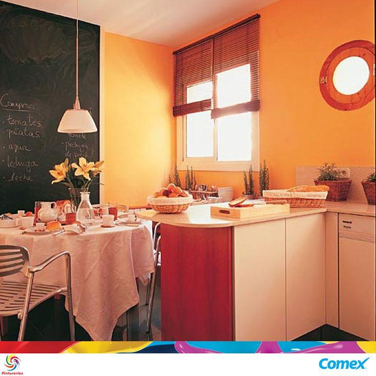 Regresamos a las cocinas y comedores con un color que invita al optimismo. El…