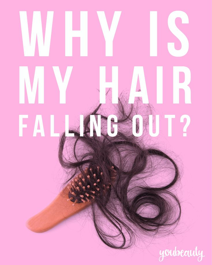 Hair falling out? Here are a few common causes and what you can do about it.