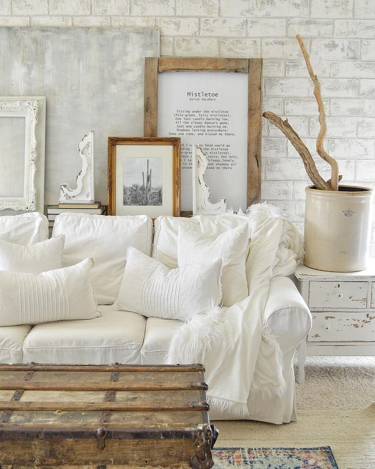 Home In 2020 Shabby Chic Living Room Chic Living Room Farm House Living Room #painted #furniture #in #living #room