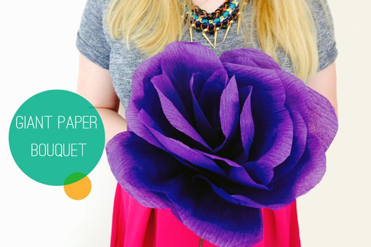 How to make a giant paper rose bouquet by @Bespoke-Bride