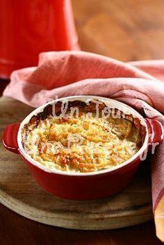 Hummm ! Gratin de pommes de terre aux champignons : une recette Un Jour, Une Recette