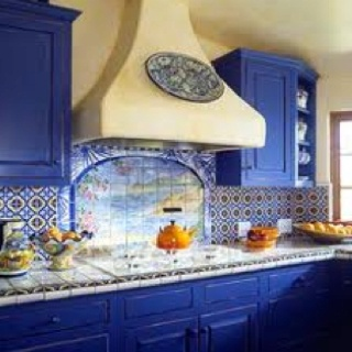 Awesome Blue for the kitchen...