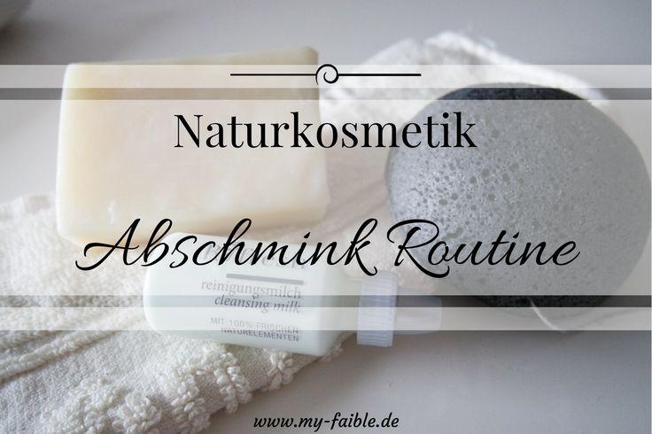 Naturkosmetik Abschmink Routine, Ringana, Cognak Schwamm