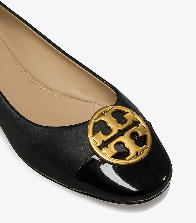 Visit Tory Burch to shop for Chelsea Cap-toe Ballet Flat and more Womens  Classic