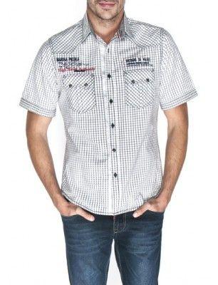 Giorgio di mare camisa manga corta | line black
