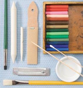 Oil Pastel Painting Tools