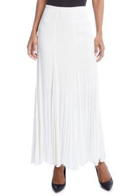 Karen Kane Women's Maxi Skirt - White - Xl