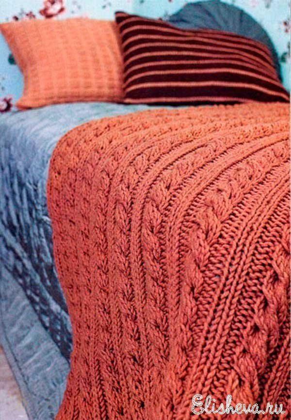 Сейчас многие рукодельницы увлекаются вязанием предметов интерьера – покрывалами, ковриками, пледами, подушками и прочим. В этой связи рекомендуем Вам присмотреться к пледу, который показался нам очень удачный вариантом для домашнего использования. Плед представляет собой прямоугольник со сторонами 160 и 100 сантиметров. Вязать его автор модели предлагает из пряжи Novita Kelo спицами Novita № 8. Такая пряжа идёт в мотках по 100 г, в каждом из которых заключена нить длиной 100 м. Нить…
