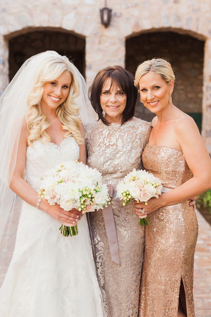 Meggan and Slade's Glam Silverleaf Club Wedding -- Elegant wedding guest style inspiration