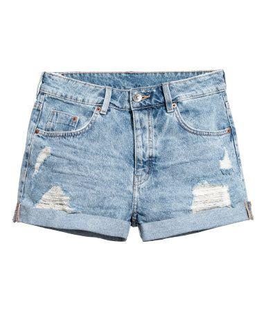 Jeansshorts | Hellblau | Damen | H&M DE