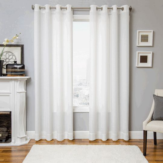 Sheer Curtains 96 sheer curtains : 1000+ images about Sheer & Semi-Sheer Curtains and Drapes on ...