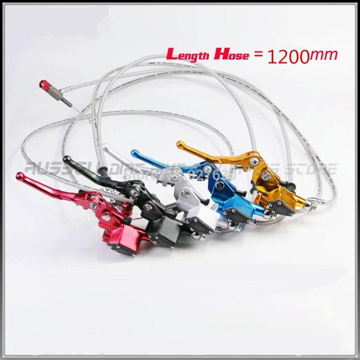 43.37$  Watch here  - 1200MM 200CC Dirt Bike CNC Aluminum Hydraulic Clutch Lever Master Cylinder For Honda Pit Bike ATV 150 250 SSR KLX SDG CRF TTR