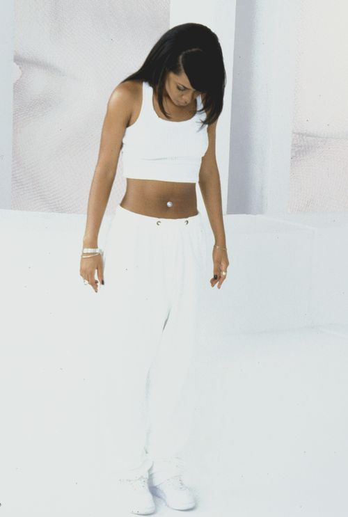Aaliyah from her One in a Million video... one of my favorite video's of all time!