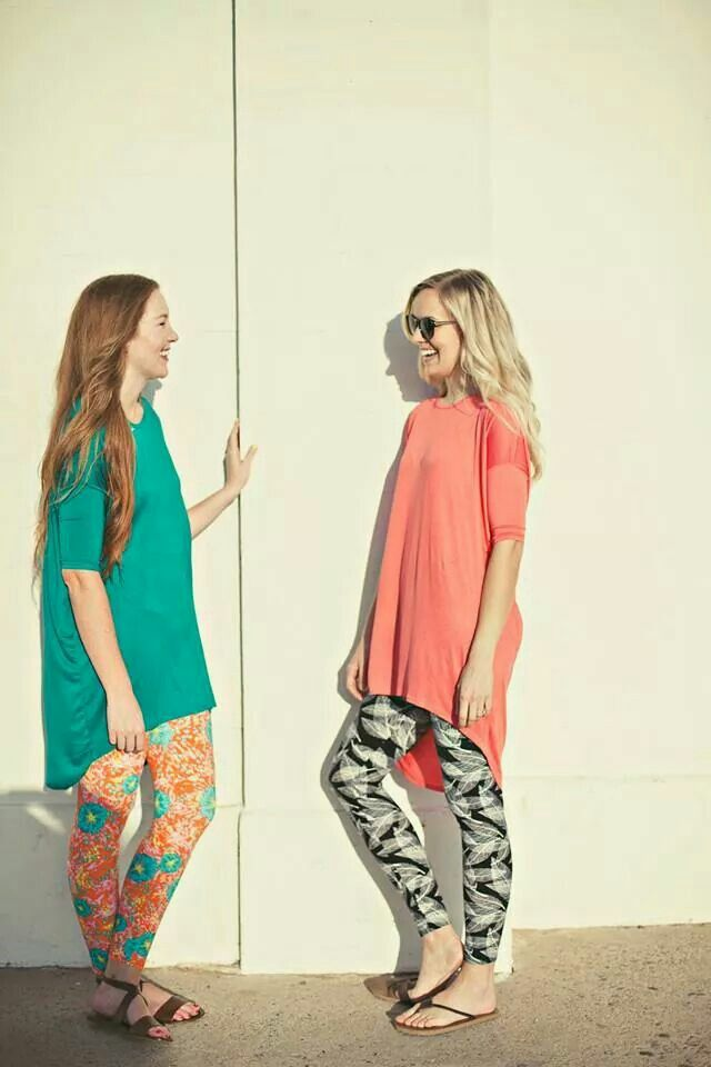 Lularoe Irma tops and leggings - i don't wear leggings, but i might start just to wear one of these cute tops with them :)