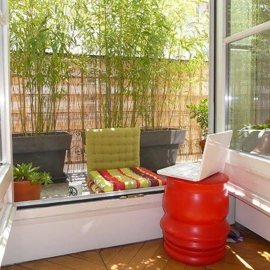 les 16 meilleures images propos de balcon sur pinterest coup deko et banquette. Black Bedroom Furniture Sets. Home Design Ideas