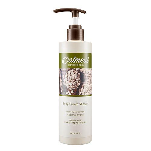 Missha Oatmeal Enriched Body Cream Shower 285ml